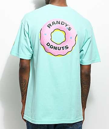 Odd Future X Randy's Big Donut camiseta en color menta
