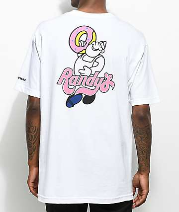 Odd Future X Randy's Donut Man White T-Shirt