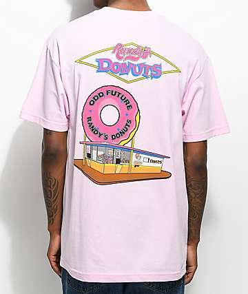 Odd Future X Randy's The Spot camiseta rosa