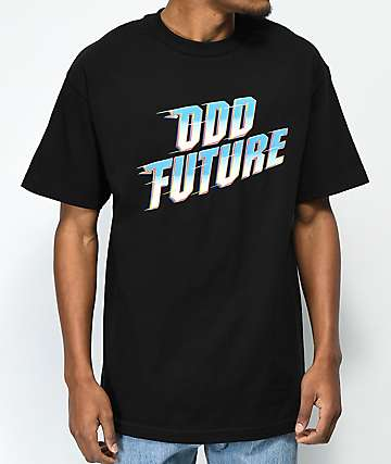 Odd Future Zoom Logo Black T-Shirt