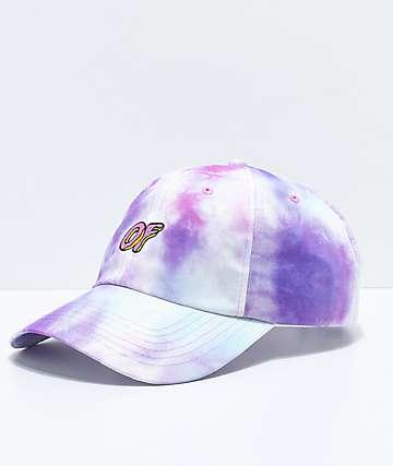 Odd Future gorra strapback con efecto tie dye