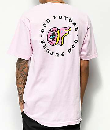 Odd Future x Santa Cruz Circle Logo Pink T-Shirt