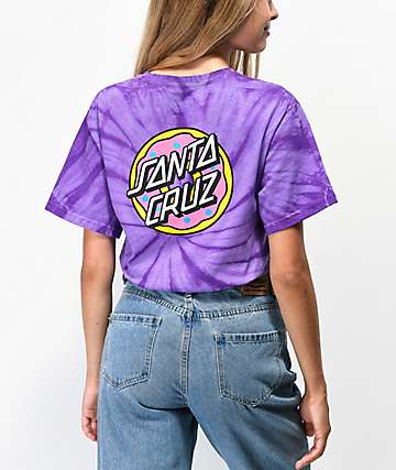 Odd Future x Santa Cruz Cyclone Purple Tie Dye T-Shirt