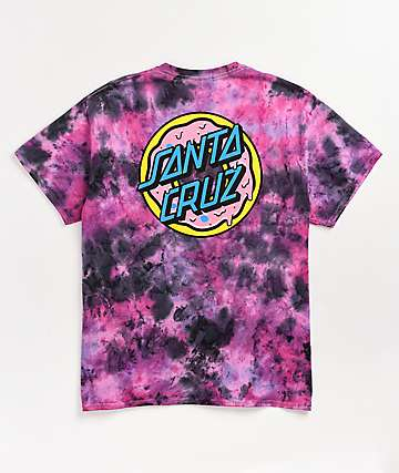 Odd Future x Santa Cruz Donut Purple Tie Dye T-Shirt