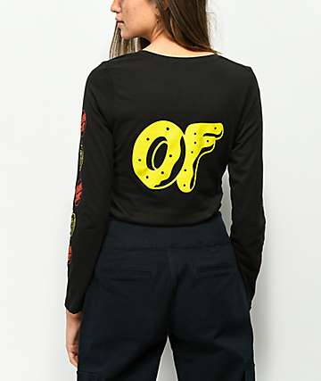 Odd Future x Santa Cruz Logo Black Long Sleeve T-Shirt
