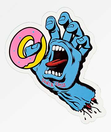 Odd Future x Santa Cruz Screaming Donut pegatina
