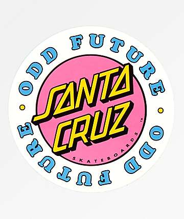 Odd Future x Santa Cruz Sticker