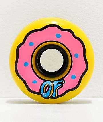 Odd Future x Slime Balls Donut 65mm 78a Longboard Wheels