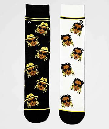 Odd Sox Future Emoji Crew Socks