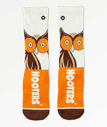 Odd Sox x Hooters Big Owl Crew Socks