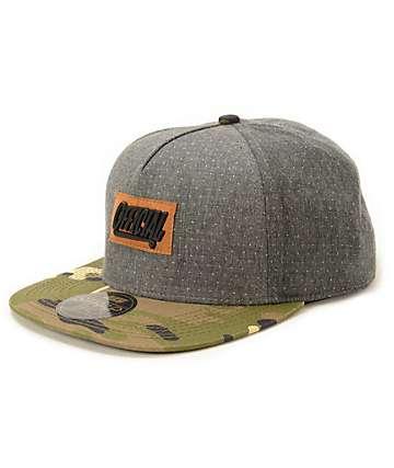 f5021995278 Official Big Metal X Dots Strapback Hat