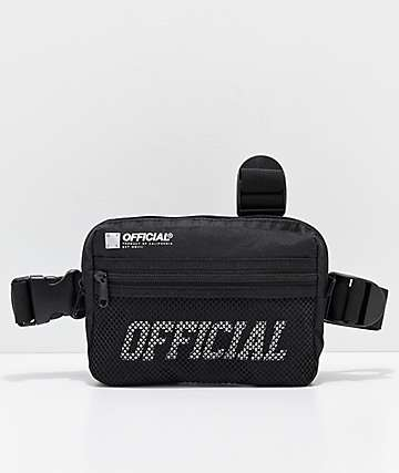Official Black Tristrap Bag