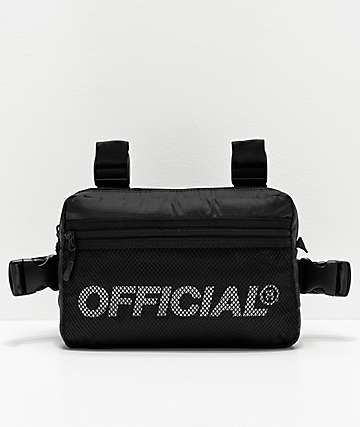 Official Melrose 2.0 Black Utility Chest Bag