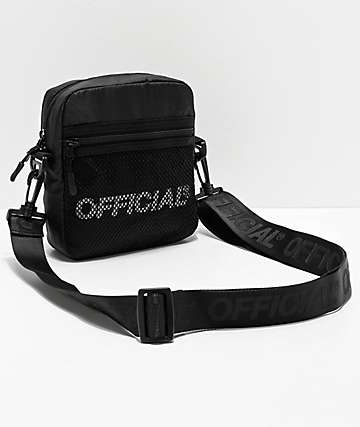Official Melrose 2.0 Black Utility Shoulder Bag