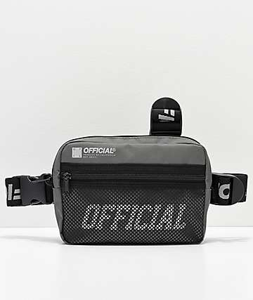 Official Tri-Strap riñonera gris