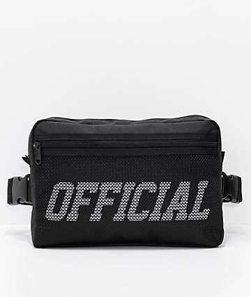 Official Utility bolso de pecho utilitario negro