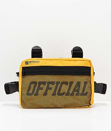 Official Utility riñonera amarilla