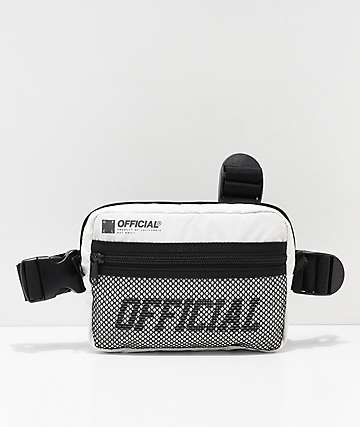 Official White Tristrap Bag