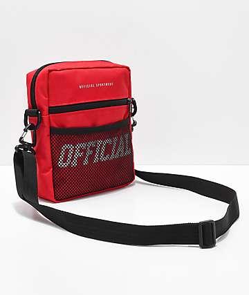 Official bolsa utilitaria en rojo
