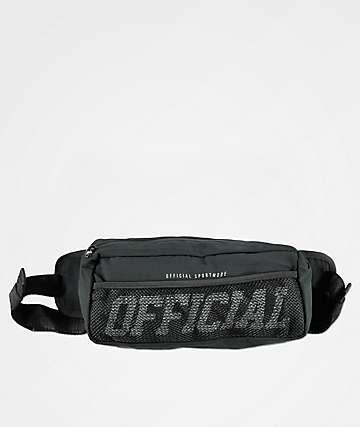 Official bolso de hombro negro