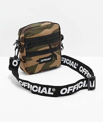Official bolso de hombro utilitario de camuflaje
