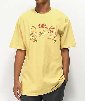 Old Friends Better Together Yellow T-Shirt