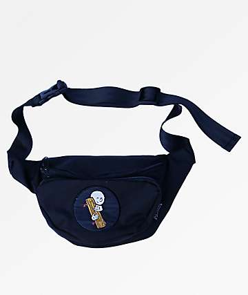 Old Friends Hugger Patch Black Fanny Pack