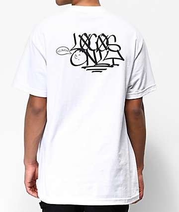 Old Friends Locos Only White T-Shirt