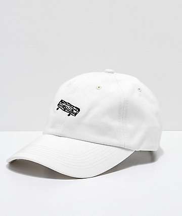 Old Friends Solo Board White Strapback Hat