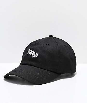 Old Friends Solo Board gorra negra de béisbol
