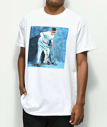 Oliver Tree Upside Down White T-Shirt