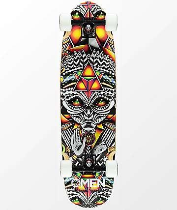 """Omen Grey Spirit 33"""" cruiser completo de skate"""