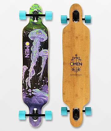 "Omen Jellies 41"" Drop Through Longboard Complete"