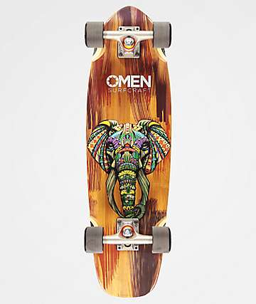 "Omen Ornate Elephant 29"" Cruiser Complete"