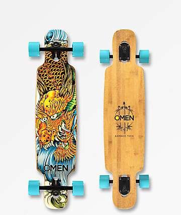"Omen Tatsu 36""  longboard completo de bambú"