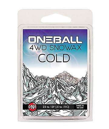 One Ball Jay 4WD Cold Blue Mini Snowboard Wax