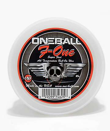 One Ball Jay F-1 Rub On Snowboard Wax