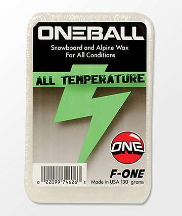 One Ball Jay F-1 Trick cera de snowboard de toda temperatura