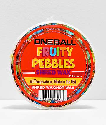 One Ball Jay Fruity Pebbles Snowboard Wax