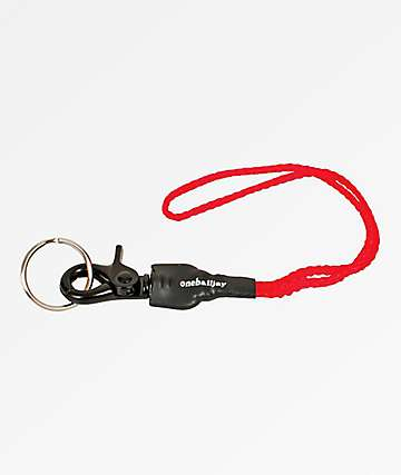 One Ball Jay Snap Pea Snowboard Leash