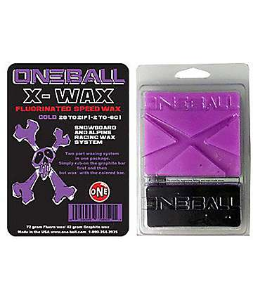 One Ball Jay X-Wax Cold cera de snowboard