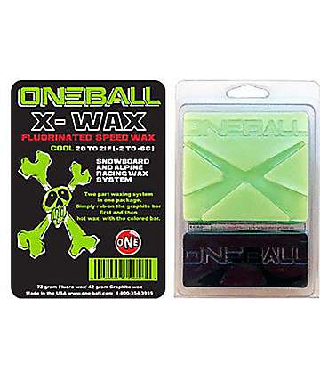 One Ball Jay X-Wax Cool Snowboard Wax 2017