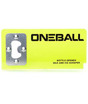 One Ball Jay raspador de cera abrebotellas transparente