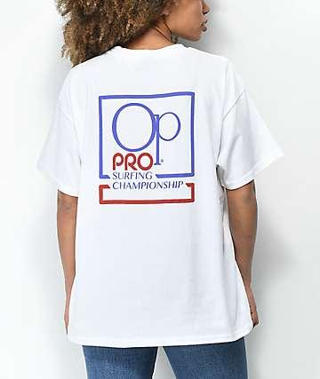 Op Pro camiseta blanca