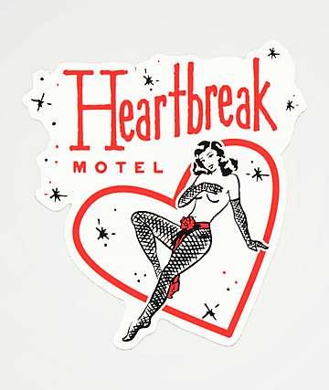 Open925 Heartbreak Motel Sticker