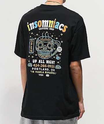 Open925 Insomniacs Black T-Shirt