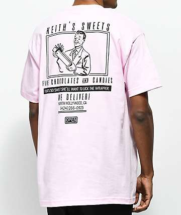 Open925 Keith's Sweets camiseta rosa