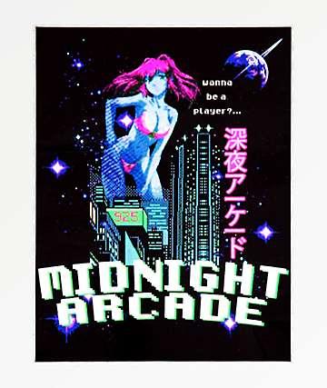 Open925 Midnight Arcade Sticker