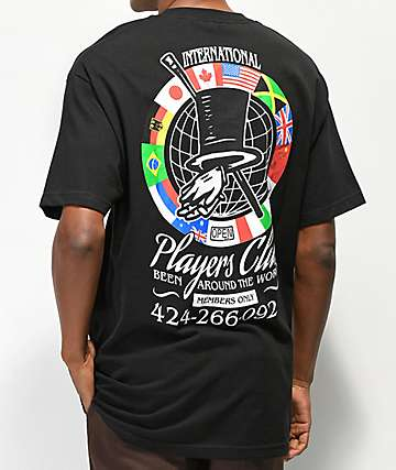 Open925 Players Club Black T-Shirt