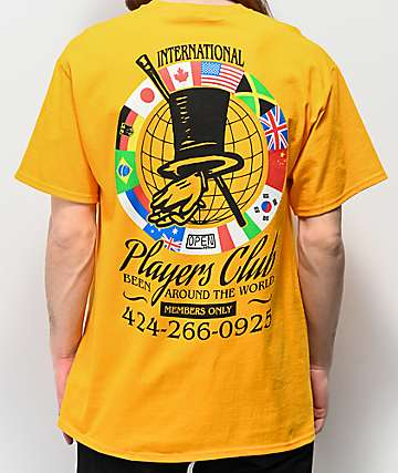 Open925 Players Club Gold T-Shirt